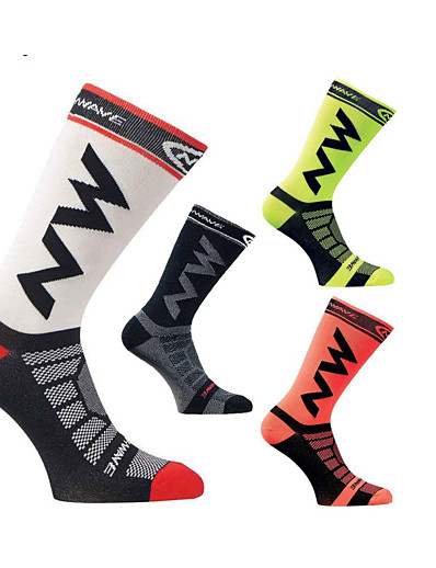 cheap SPORTSWEAR-socks mid knee length socks breathable and windproof for running climbing cycling trekking outdoor excuirsion