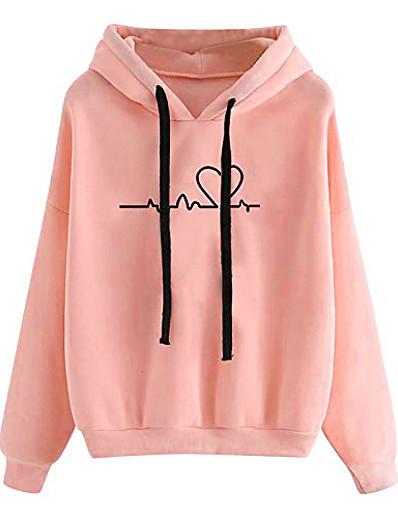 cheap Hoodies & Sweatshirts-women's autumn winter hoodie sweatshirt pullover tops long sleeved comfortable