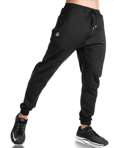 cheap Running, Jogging & Walking-Men's Sweatpants Joggers Athletic Bottoms Drawstring with Side Pocket Cotton Fitness Gym Workout Running Active Training Jogging Thermal Warm Breathable Soft Sport Dark Gray ArmyGreen Black Light Grey