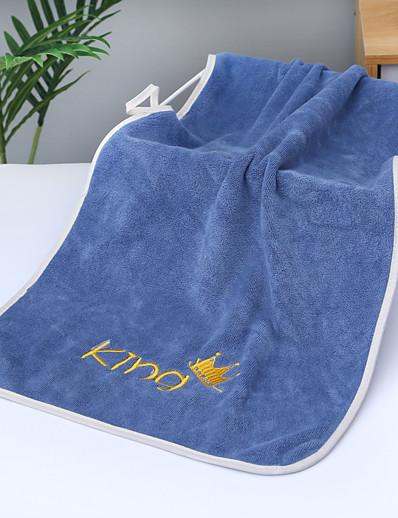 economico Casa e giardino-litb basic bagno morbido asciugamano in pile di corallo asciugamani confortevoli per il lavaggio quotidiano della casa 1 pz 35 * 75 cm
