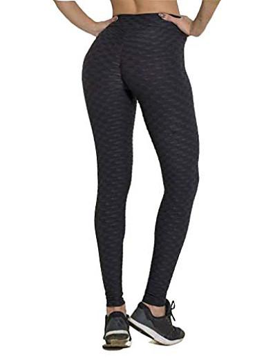 abordables Bas pour femmes-legging de compression anti-cellulite promotion dernier jour 2019 (noir, l)