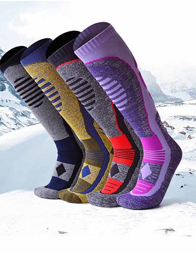 cheap Ski & Snowboard-Men's Ski Socks Ski / Snowboard Breathability Heat Retaining Cotton Socks Long Socks Ski Wear / Winter