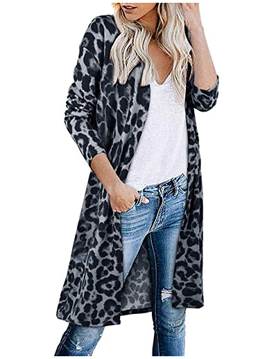 cheap Sweaters & Cardigans-aodong womens cardigan sweaters lightweight womens button down crew neck long sleeve soft knit cardigan sweaters black