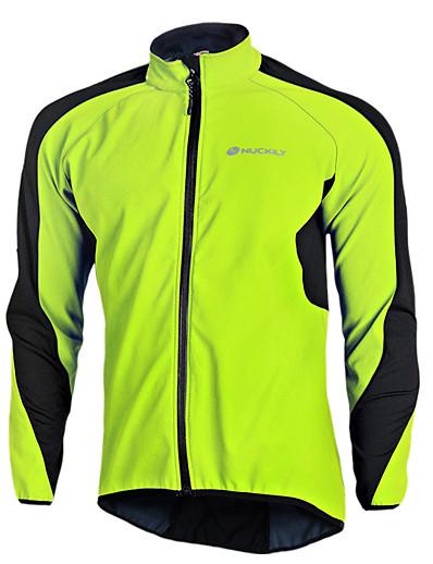 halpa Pyöräily-nuckily miesten pyöräilytakki elastaani pyöräilytakki fleecevuori tuulitakki jersey lämpö lämmin tuulenpitävä vedenpitävä hengittävä urheilullinen tilkkutäkki vaatteet vaatteet pyöräilyvaatteet / pitkähihainen / joustava