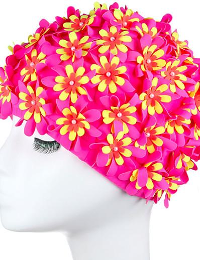 cheap Sportswear-Swim Cap for Nylon Adults Swimming Breathability Comfortable Durable