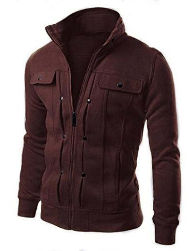 cheap Men's Tops-Men's Solid Color Hunting Hooded Sweatshirt Chic & Modern Vintage Hoodies Sweatshirts  White Light Gray Black