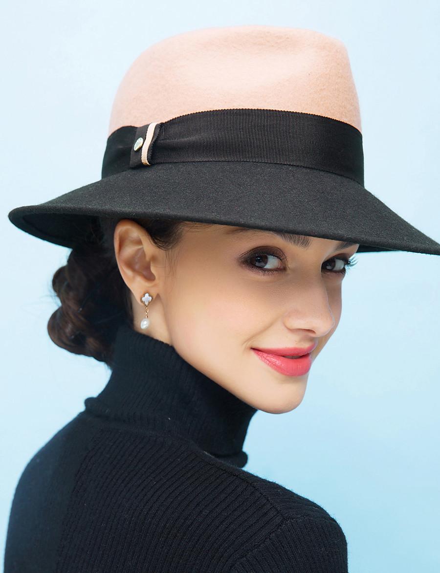 Women's Bucket Hat Casual Daily Outdoor Color Block Camel Hat / Winter / Spring / Vintage