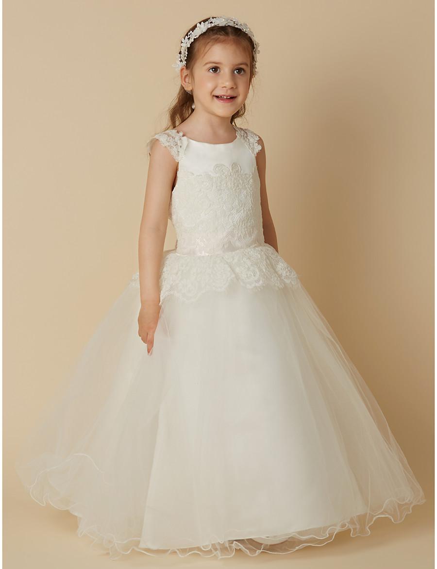 e3cc450839c Full Length Ivory Flower Girl Dresses - Gomes Weine AG