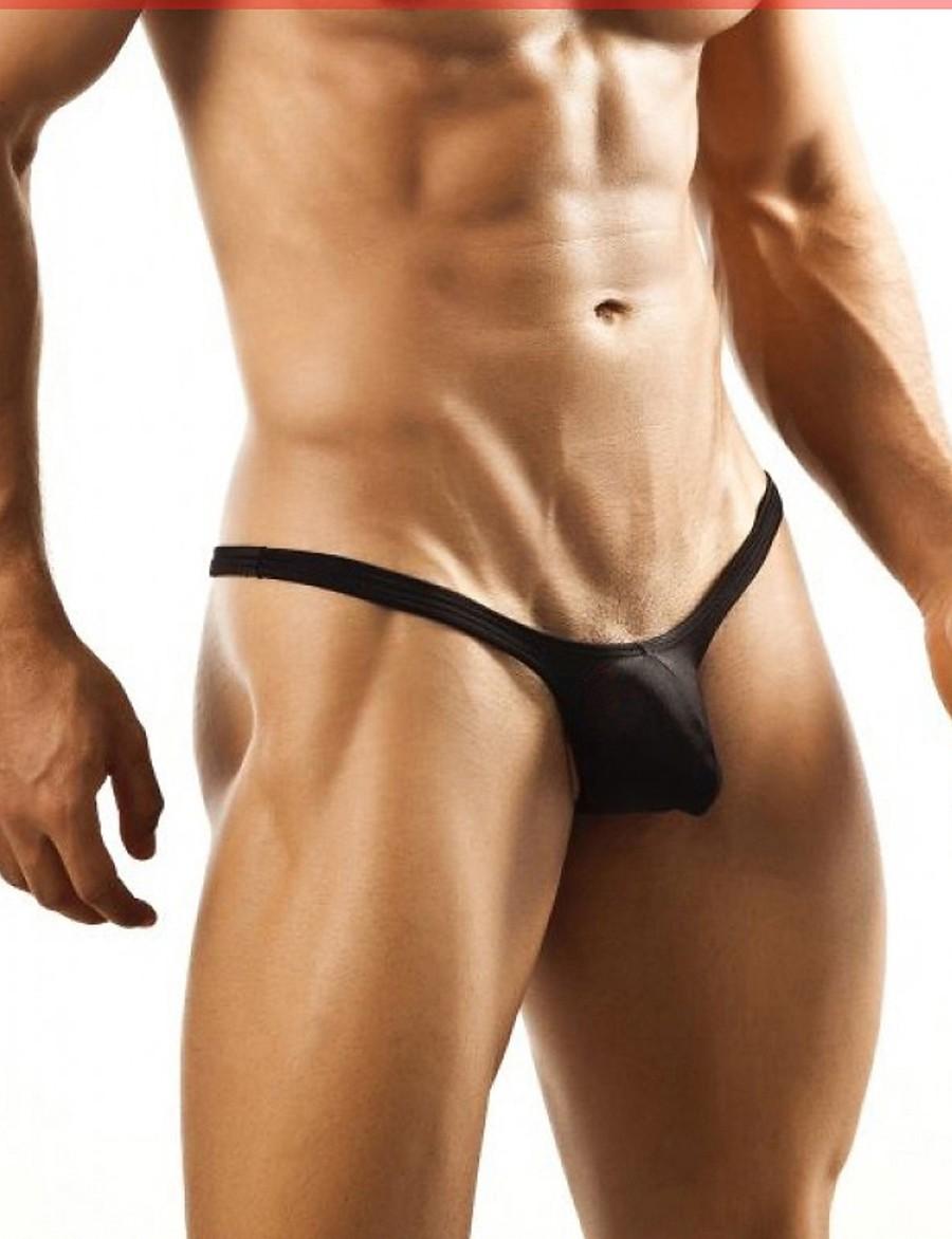 Men's Basic Sexy G-string Underwear - Normal, Solid Colored Low Waist Black Wine Light Blue M L XL / Club