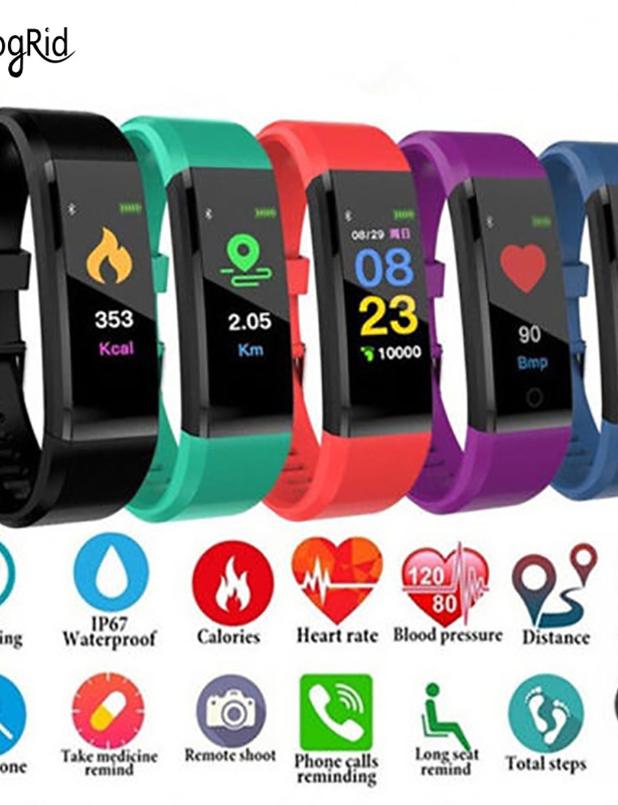 Women's Digital Watch Digital Digital Formal Style Modern Style Casual Water Resistant / Waterproof Bluetooth Smart / Silicone
