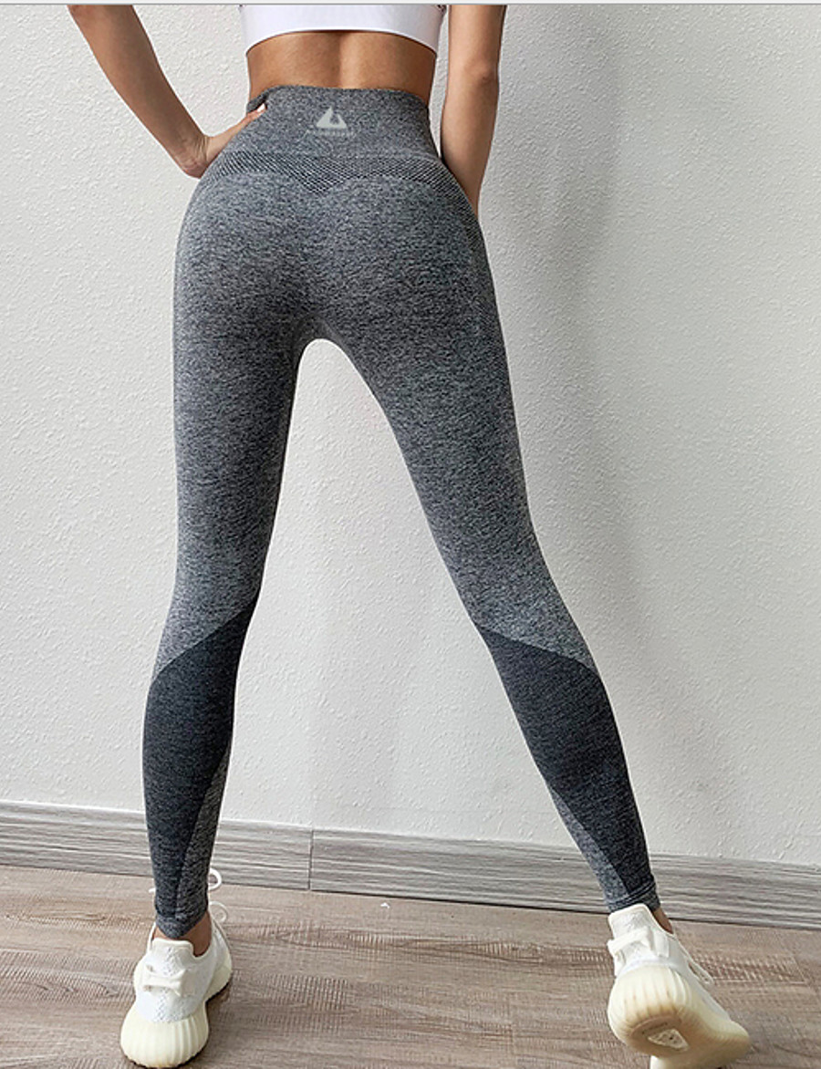 Women's Sporty Sweatpants Pants - Solid Colored Black Dusty Rose Blue S L