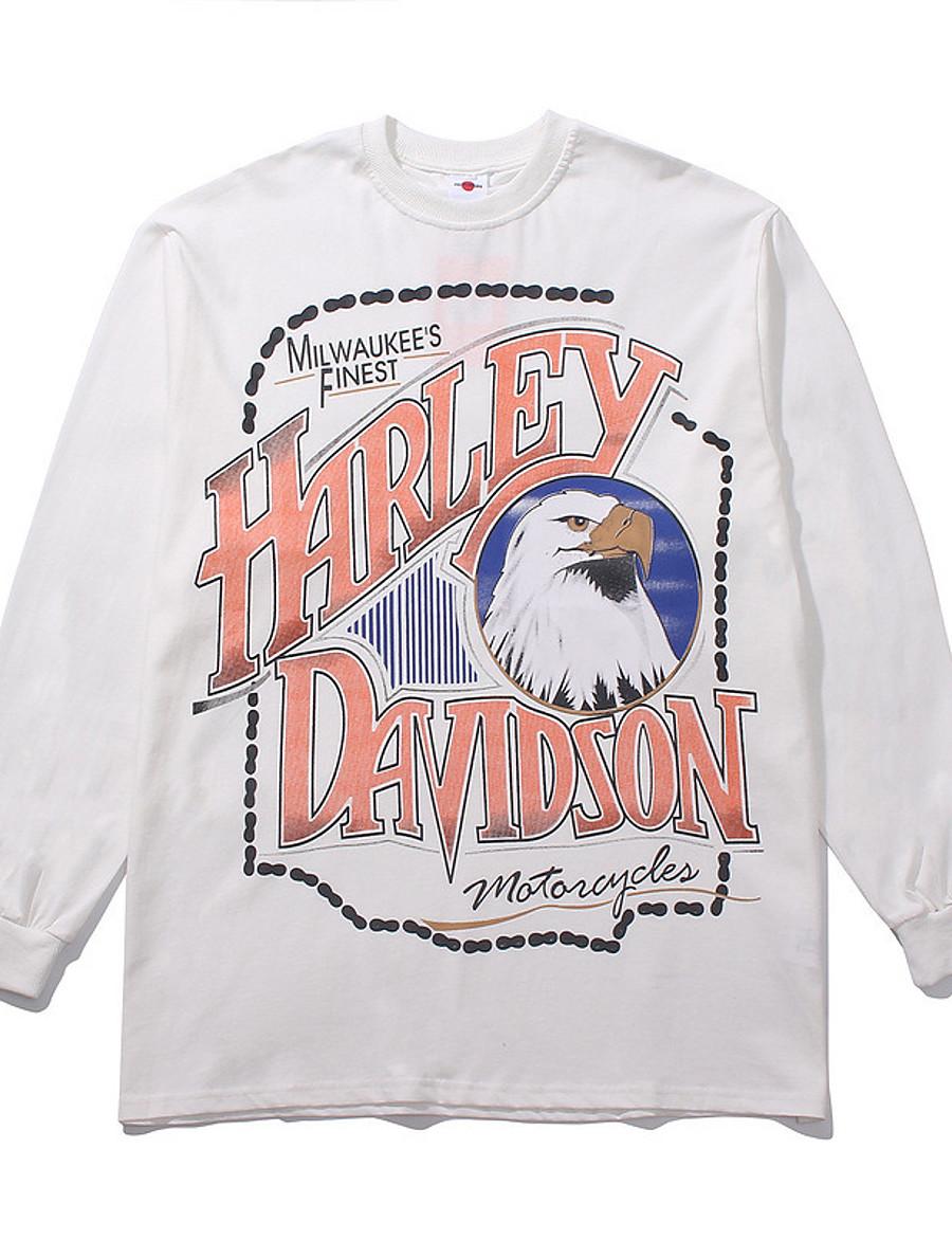 Women's Sweatshirt Character Animals Basic Hoodies Sweatshirts  Loose White Gray