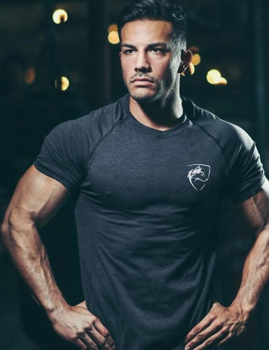Men's Short Sleeve Workout Tops Running Shirt Tee Tshirt Top Athleisure Summer Quick Dry Breathable Soft Fitness Gym Workout Performance Running Training Sportswear White Black Blue Army Green Navy