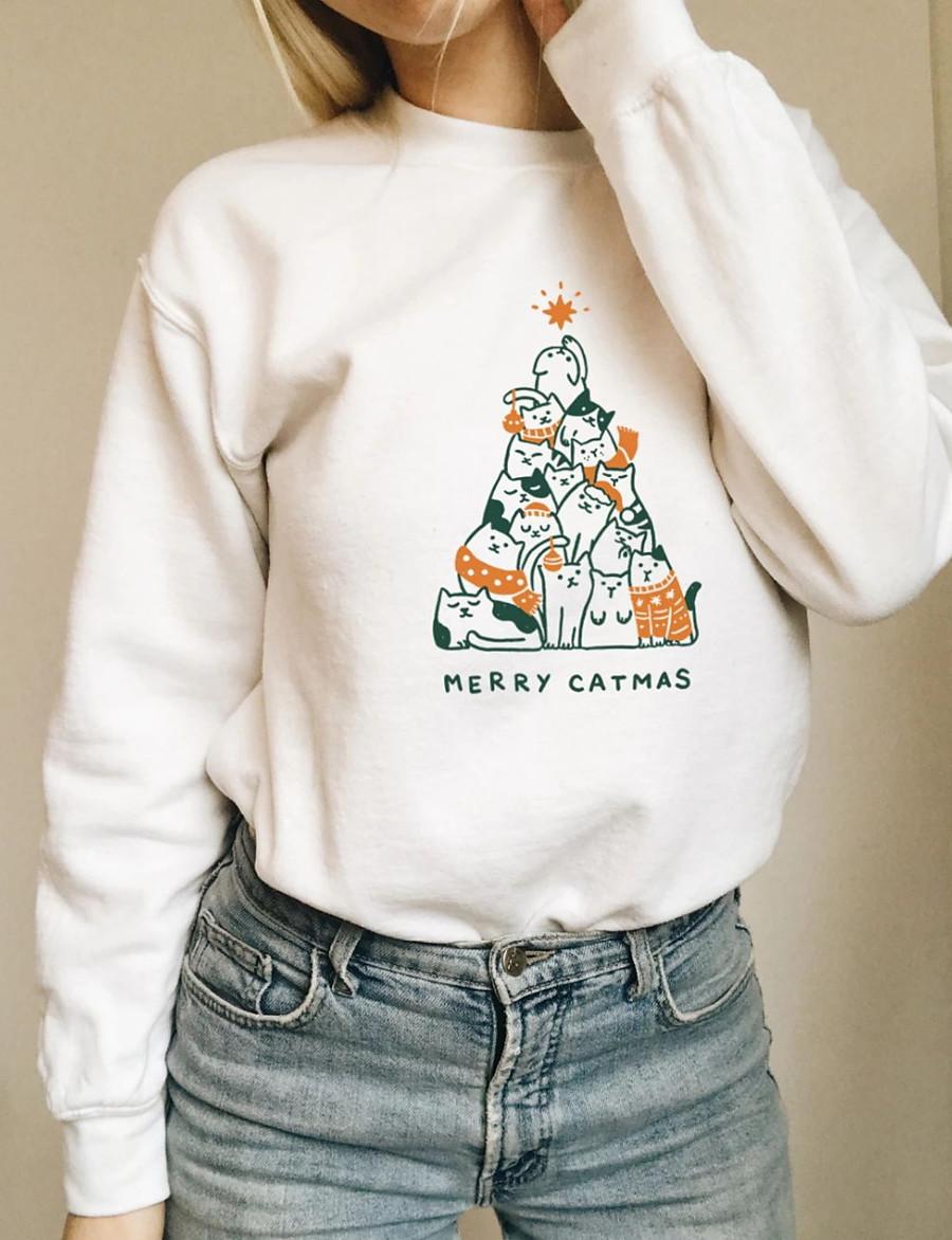 Women's Pullover Sweatshirt Graphic Letter Daily Casual Basic Hoodies Sweatshirts  Cotton Slim Oversized White Black Yellow