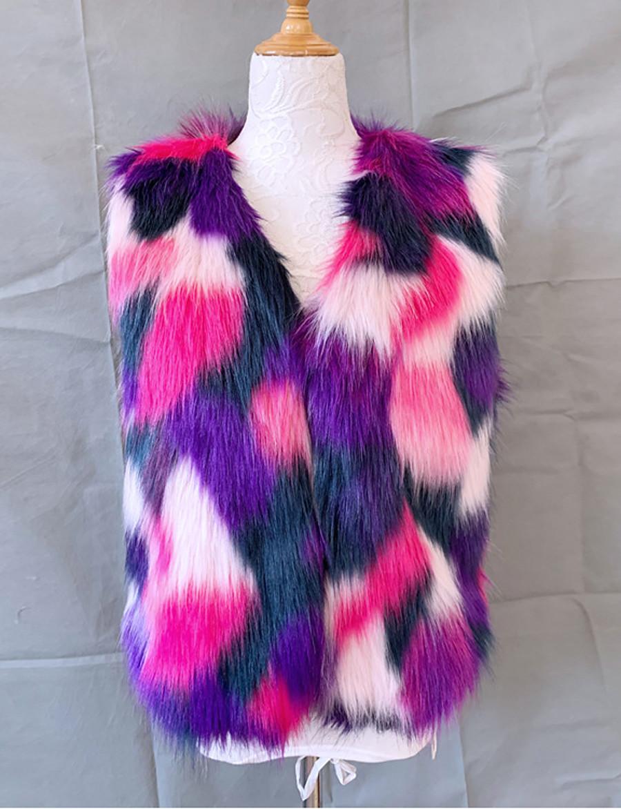 Women's Vest Regular Tie Dye Daily Basic Purple S M L XL