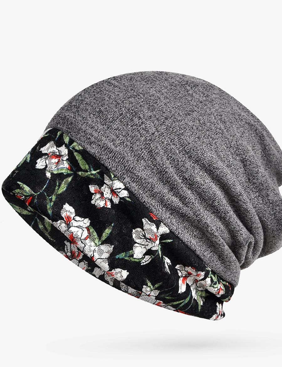 Women's Floppy Hat Dailywear Floral Hat / Basic / Fall / Winter / Cotton
