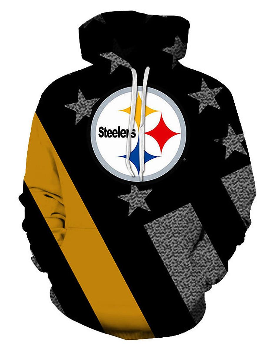 men women american 3d hoodies cowboys eagles raiders patriots sweatshirt jacket coat pullover,black and grey,xxs