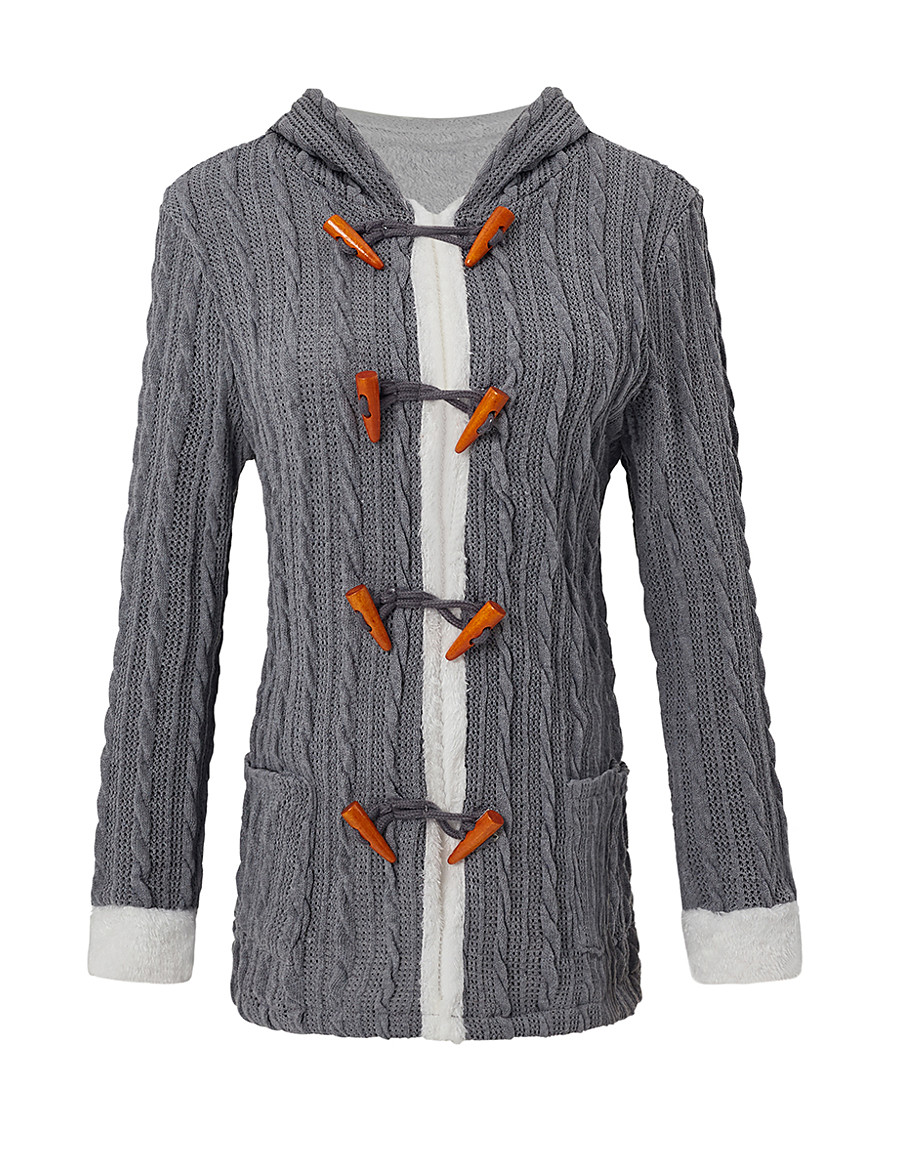Women's Single Breasted Jacket Long Solid Colored Daily Basic White Blue Red Yellow S M L XL