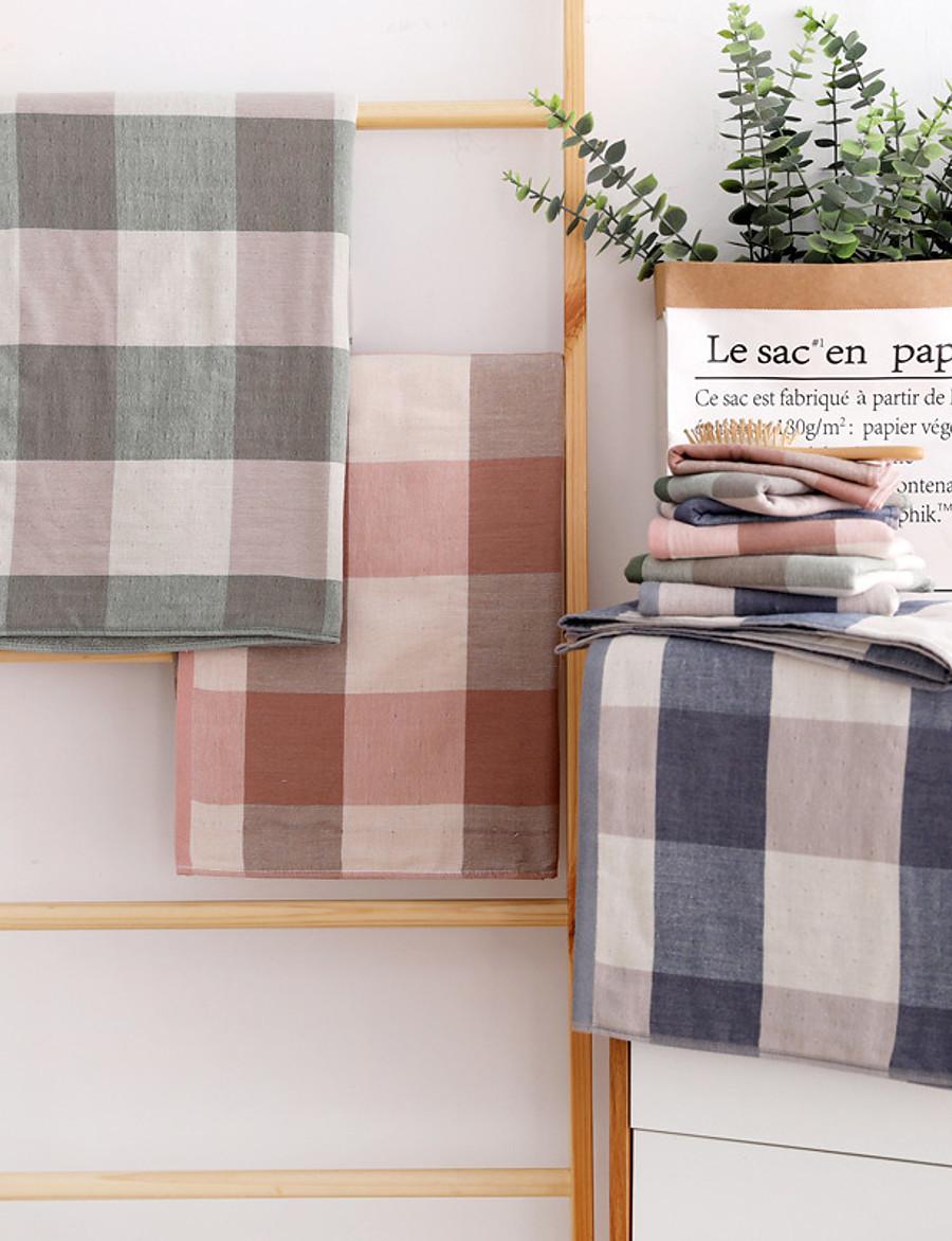 LITB Basic Bathroom 100% Pure Cotton Hand Towel Soft Comfortable Square Daily Home Bath Towels 1 pcs 35*75cm