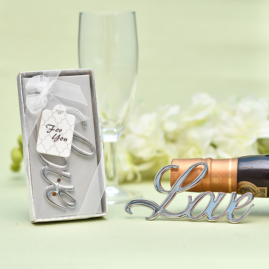 ADOR Non-personalized Stainless Steel / Chrome Bottle Openers / Bottle Favor Classic Theme / Romance / Wedding Bottle Favor