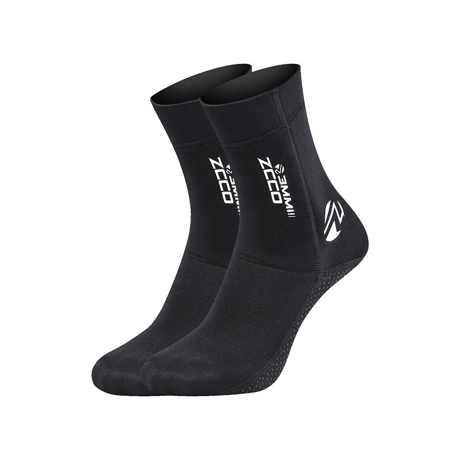 ZCCO Men's Women's Neoprene Socks 3mm Stylish Nylon Neoprene Swimming Surfing Water Sports - for Adults