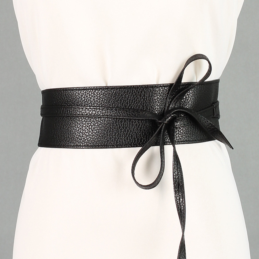 Women's Wide Belt Black Red Party Wedding Dailywear Casual Belt Pure Color / Blue / Fall / Winter / Spring / Summer