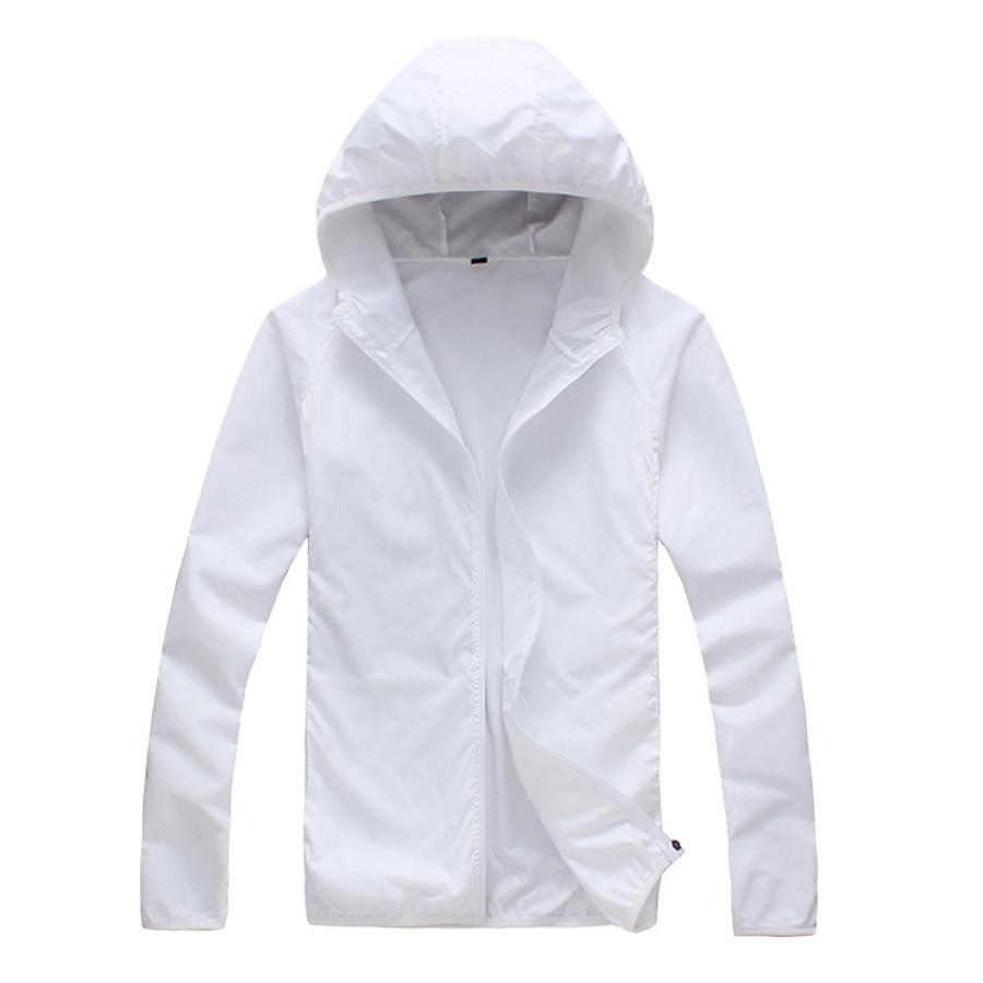Men's Cycling Jacket Winter Polyester Bike Windbreaker Top Windproof Breathable Quick Dry Sports White / Fuchsia / Pink Mountain Bike MTB Clothing Apparel Regular Fit Bike Wear / Long Sleeve