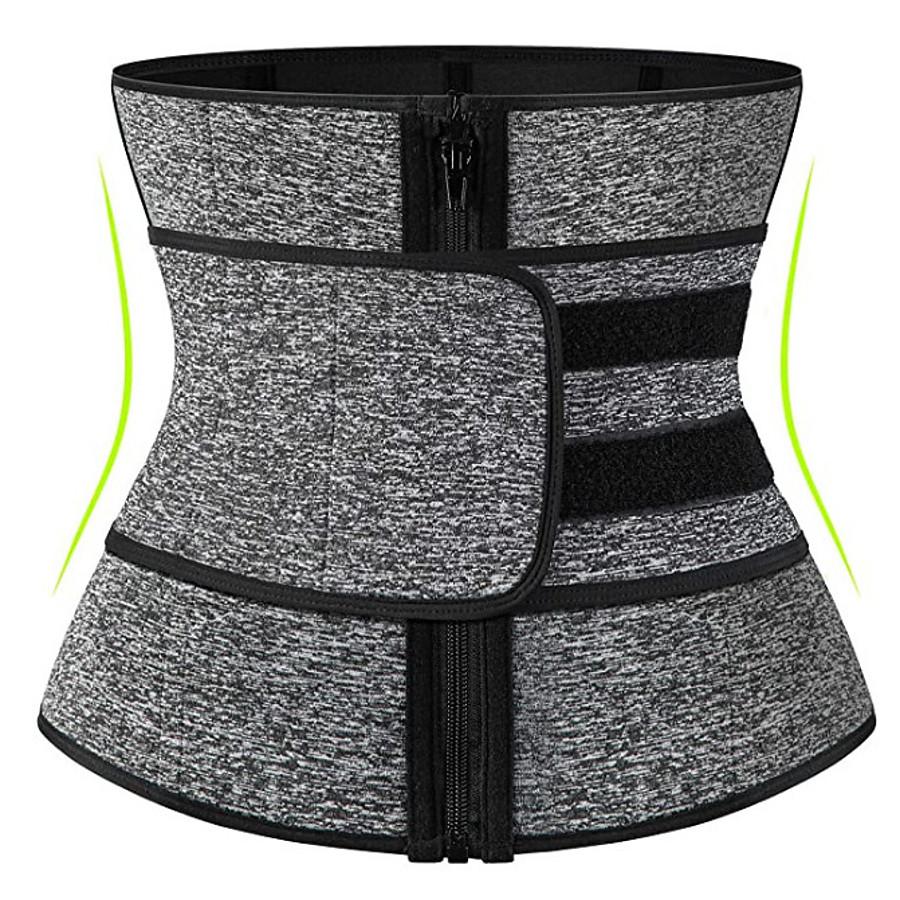 neopren sweat waist trainer corset for women weight loss with ykk zipper,trimmer belt body shaper cincher
