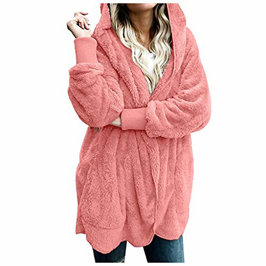 Women's SchoolWear Coats / Jackets Dark Gray Wine Almond Pink S M L XL