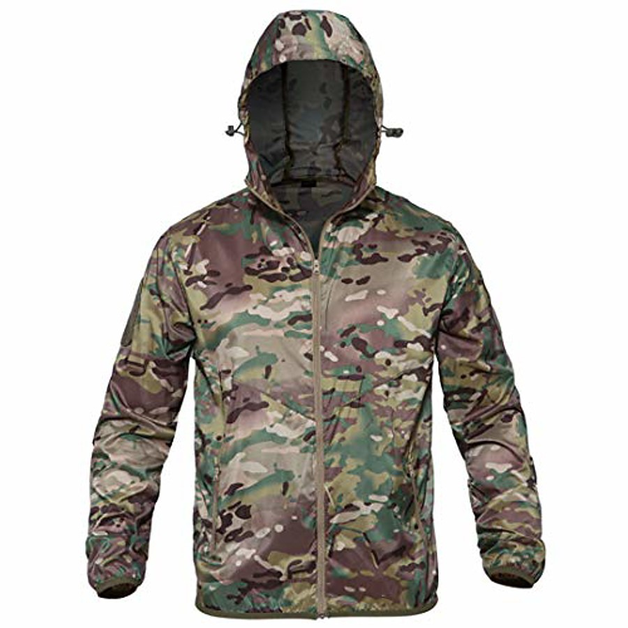 thin army military jackets lightweight quick dry jacket tactical skin jacket cp camo s