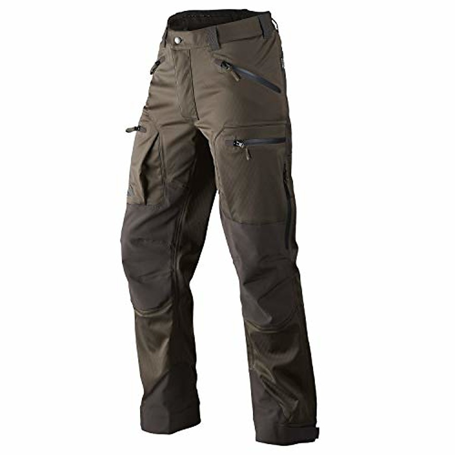 Men's Work Pants Hunting Pants Tactical Cargo Pants Winter Spring Autumn Windproof Multi-Pockets Breathable Sweat-Wicking Bottoms for Camping / Hiking Hunting Training IX7 Khaki (pure cotton stretch