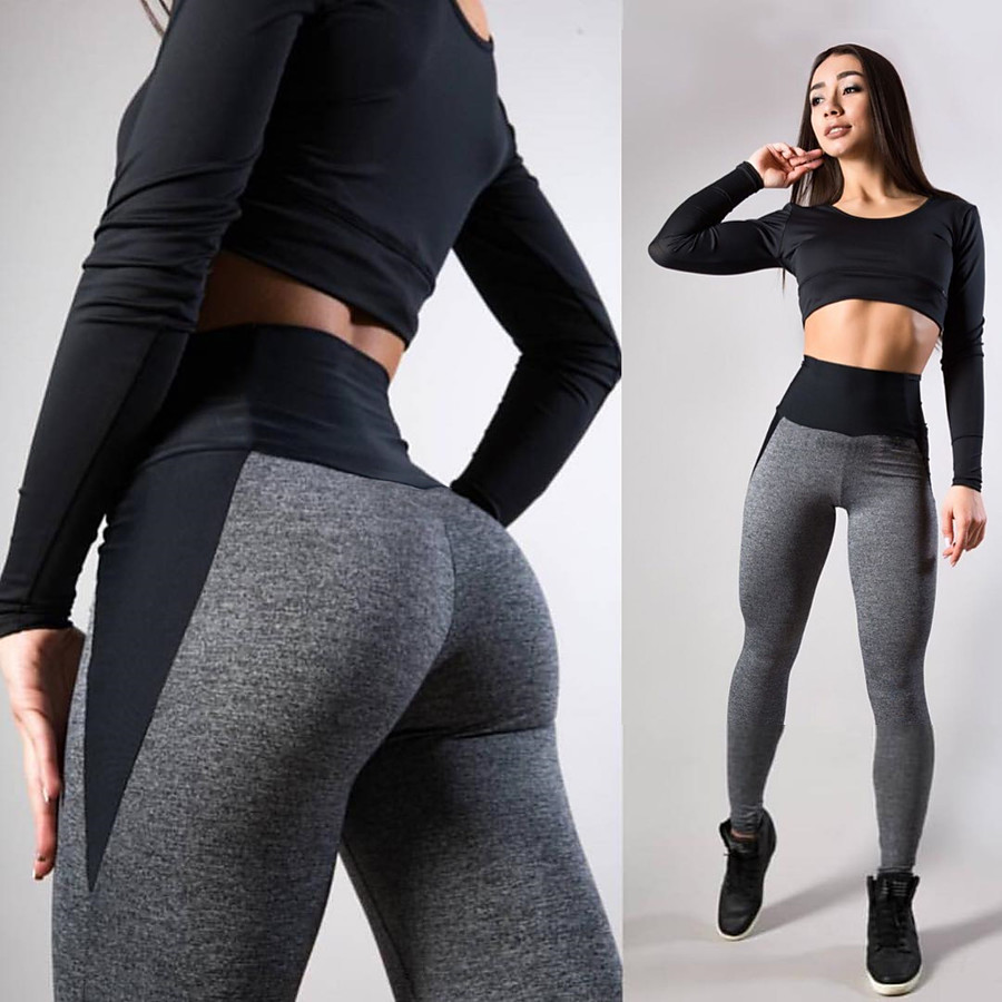 Women's High Waist Yoga Pants Seamless Leggings Tummy Control Butt Lift Moisture Wicking Blue Pink Gray Fitness Gym Workout Running Sports Activewear Stretchy Skinny