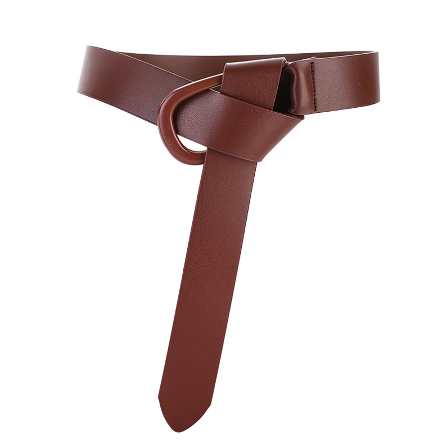 Women's Wide Belt Black Brown Dailywear Daily Holiday Date Belt Pure Color / Fall / Winter / Spring / Summer / Work