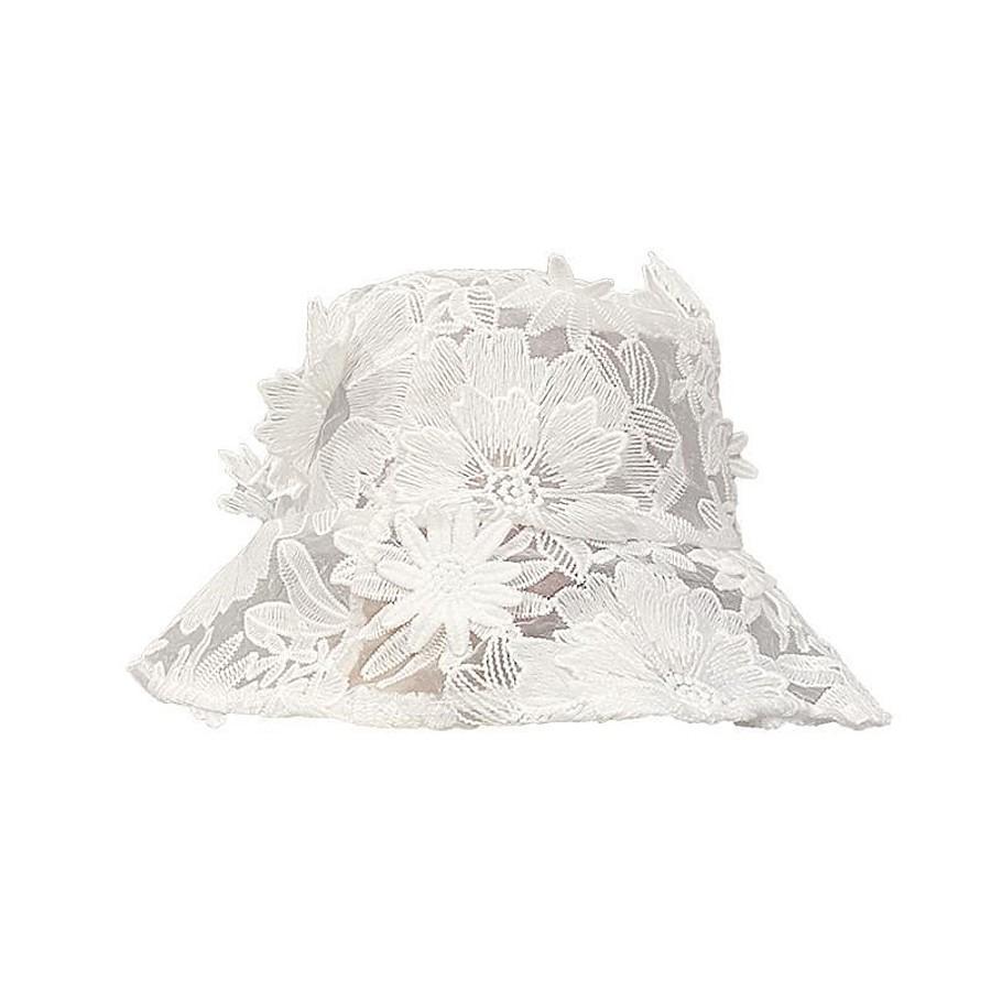 Women's Bucket Hat Flower Street Dailywear Sports Outdoor Black White Pure Color Hat / Winter / Spring