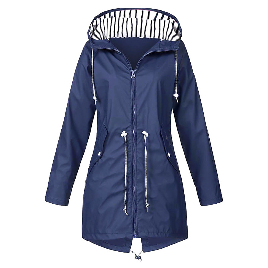 hiking jacket,women's waterproof and breathable insulated hooded jacket,outdoor water resistant rain jacket,autumn(m-xxl)