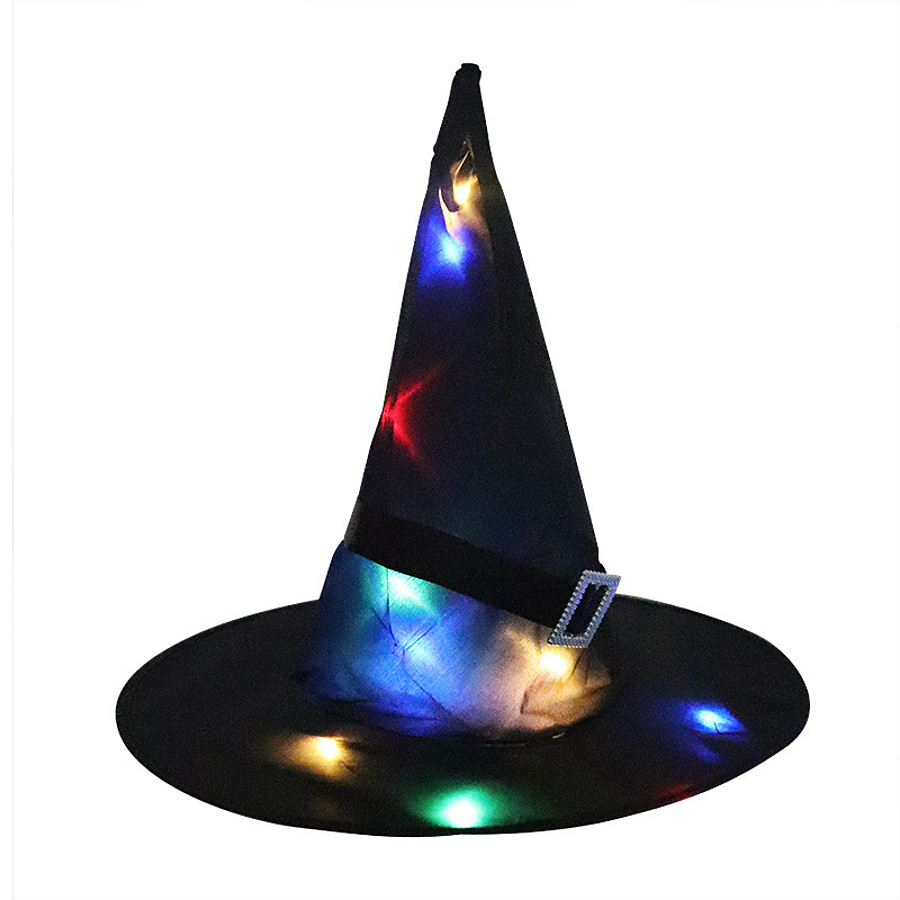 Women's Party Hat Glitter Party Halloween Masquerade Black Red Pure Color Hat / Orange / Purple / Fall / Winter / Vintage