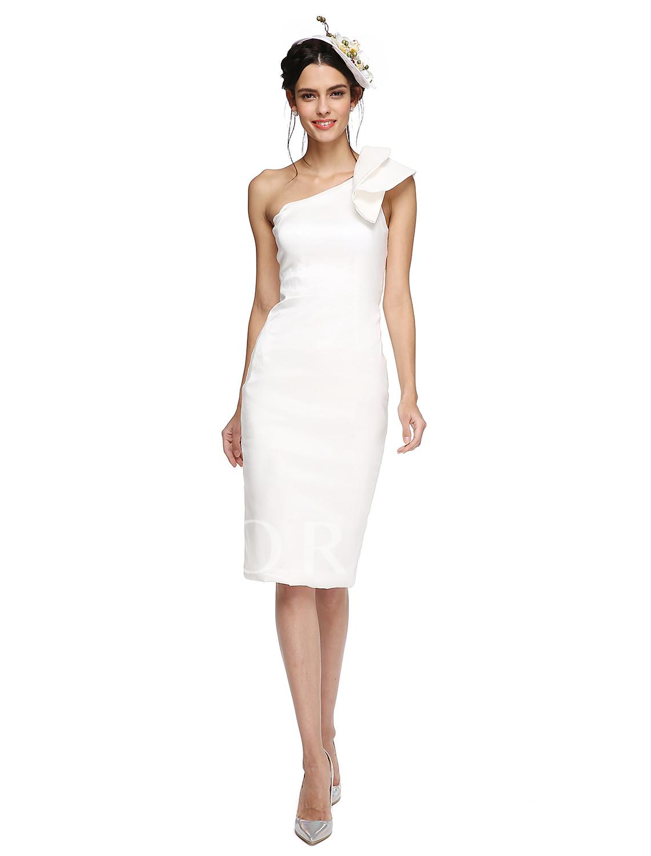 Knee Length Taffeta Cocktail Dresses