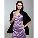 cheap Wedding Wraps-Sleeveless Faux Fur Wedding / Party Evening Wedding  Wraps / Fur Wraps Shawls