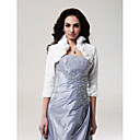 cheap Wedding Wraps-Taffeta Wedding Wedding  Wraps With Ruffles Coats / Jackets