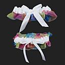 baratos Ligas para Noivas-Organza Fashion Wedding Garter  -  Laço Ligas