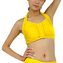 cheap Belly Dance Wear-Belly Dance Tops Women's Training Crystal Cotton Sleeveless