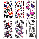 cheap Tattoo Stickers-#(6) Pattern Others Tattoo Stickers