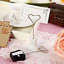 preiswerte Strumpfbänder für die Hochzeit-Tischkarten und Halter klassische Braut und Bräutigam Tischkartenhalter (set of 4 Paare)