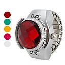 ieftine Ceasuri Damă-Pentru femei Quartz Ceas inel Japoneză Ceas Casual Aliaj Bandă Vintage Argint