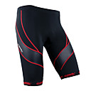 cheap Cycling Pants, Shorts, Tights-SANTIC Men's Cycling Padded Shorts - Black Bike Shorts / Padded Shorts / Chamois, 3D Pad, Quick Dry, Breathable Polyester, Spandex,