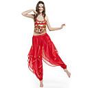 abordables Accesorios de Baile-Danza del Vientre Accesorios Mujer Rendimiento Raso Cuentas / Moneda Sin Mangas Cintura Media / Desempeño
