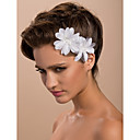 cheap Dance Accessories-Satin Fascinators / Flowers / Headwear with Floral 1pc Wedding / Special Occasion / Casual Headpiece