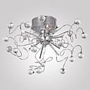 preiswerte Einbauleuchten-Kronleuchter / Unterputz Raumbeleuchtung Chrom Galvanisierung Metall Kristall 110V / 110-120V / 220-240V Inklusive Glühbirne