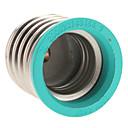 hesapli Lamba Bazları ve Konektörler-E40'tan E27'ye kadar E27 85-265 V Işık soketi Plastik