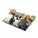 preiswerte Stromquellen-3.3V-5V Power Supply Module für MB102 Breadboard (Black)